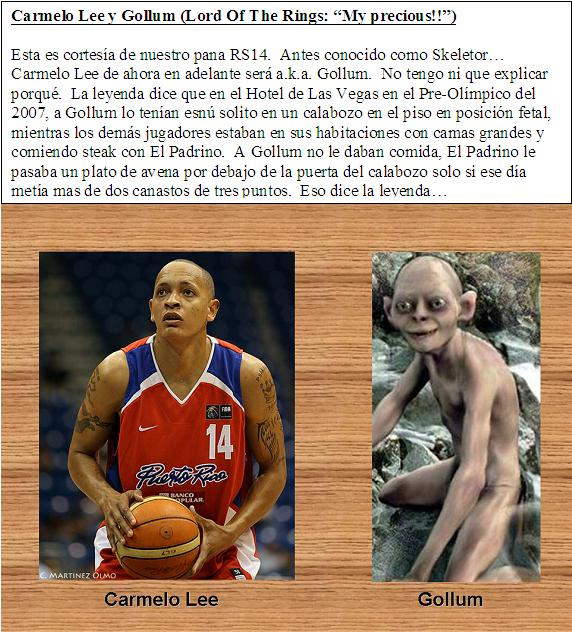 Carmelo Lee - Gollum (Lord Of The Rings)