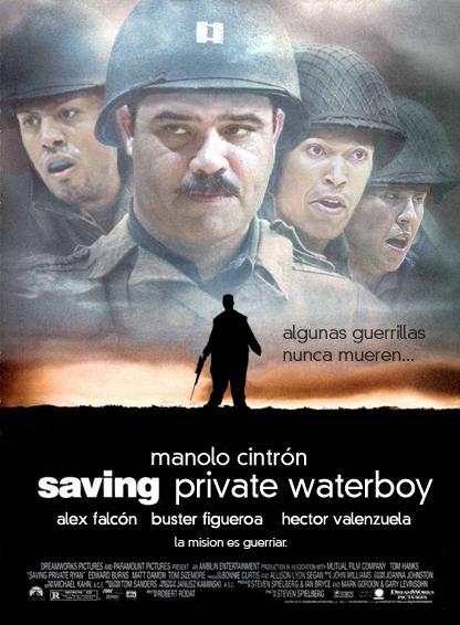 Saving Private Waterboy